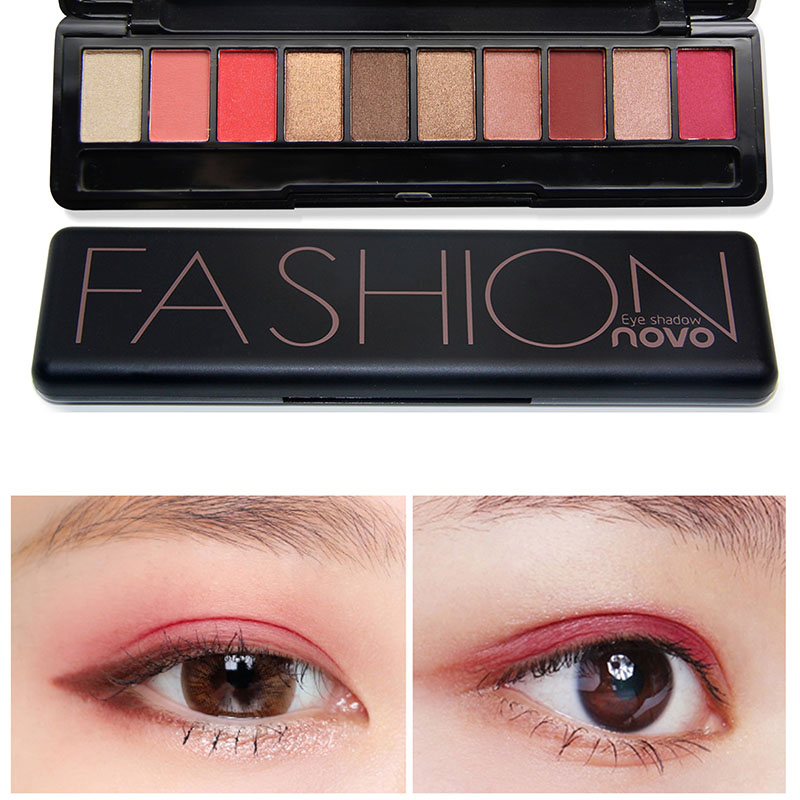 Beauty & Health Professional 10 Colors Makeup Eye Shadow Eyeshadow Palette Shimmer Matte Eye Shadow Cosmetics Beauty New