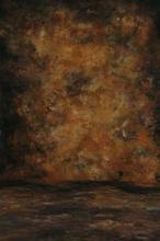 Vignettes en mousseline peintes à la main 10x20 pieds, arrière plan de studio photo abstrait vieux maître, service personnalisé