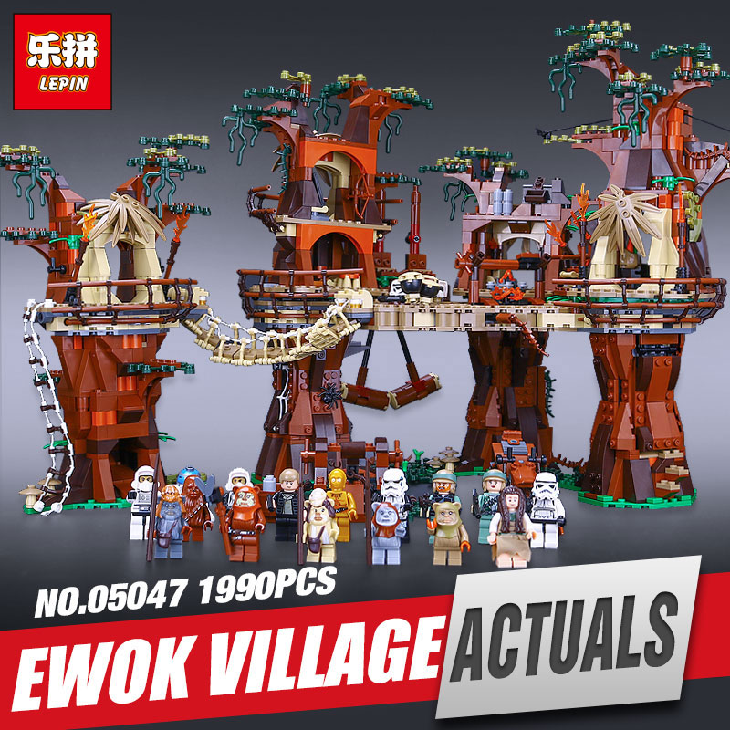LEPIN 05047 Star set Wars Village Model Educational Building Kits Blocks Bricks Compatible Children Toys for Gift legoing 10236 набор нордпласт нордик разноцветный 220