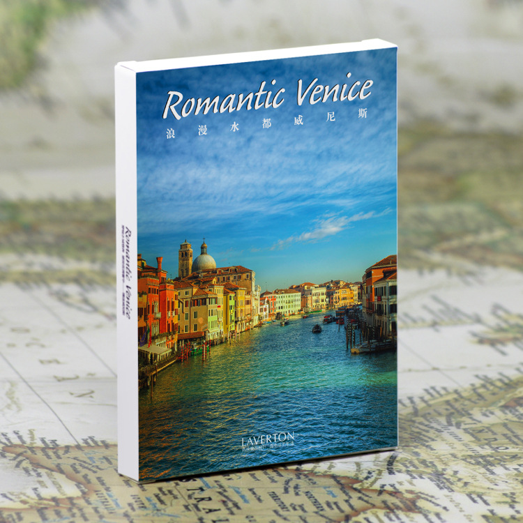 30pcs in one, Postcard,Take a walk on the go,Venice Italy,Christmas Postcards Greeting Birthday Message Cards 10.2x14.2cm the one in a million boy