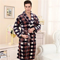 New 2017 Autumn Winter Male Pajama Sets V-Neck Long Sleeve Leopard Soft Men Sleepwear Pajamas Couple Pyjama Femme Plus Size