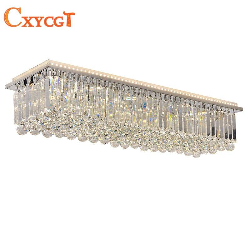 Modernen Fernbedienung LED Kristall Deckenleuchte Helligkeit Farbe Control Esszimmer Schlafzimmer WohnzimmerChina