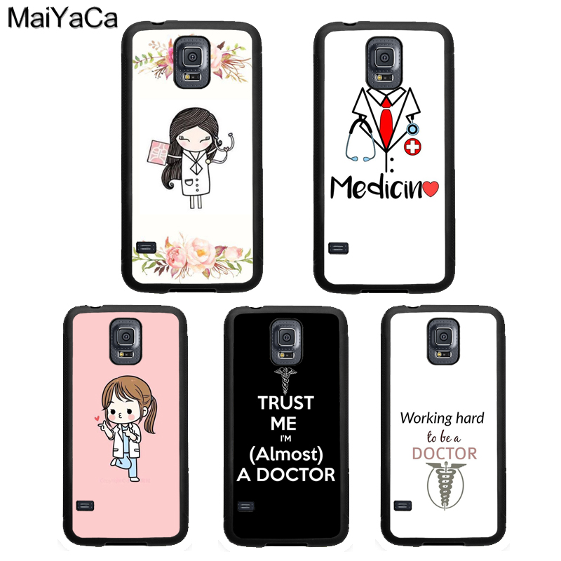 Cellphones & Telecommunications Apprehensive Maiyaca Medical Doctor Nurse Medicine Student Case For Samsung Galaxy S10 Plus Lite S8 S9 S5 S6 S7 Edge Note 9 8 Cover Shell