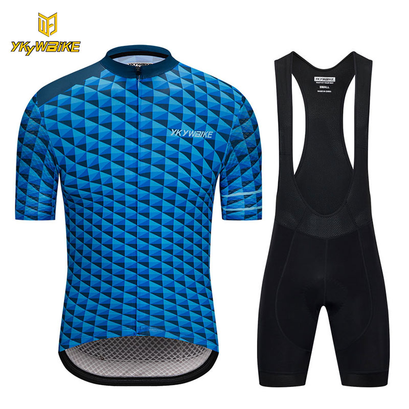 YKYWBIKE 2018 Cycling Bib Sets Summer Short Sleeve MTB Bike Jersey Set Cycling Clothing Ropa Maillot Ciclismo Bicycle Clothes breathable cycling jersey summer mtb ciclismo clothing bicycle short maillot sportwear spring bike bisiklet clothes ciclismo