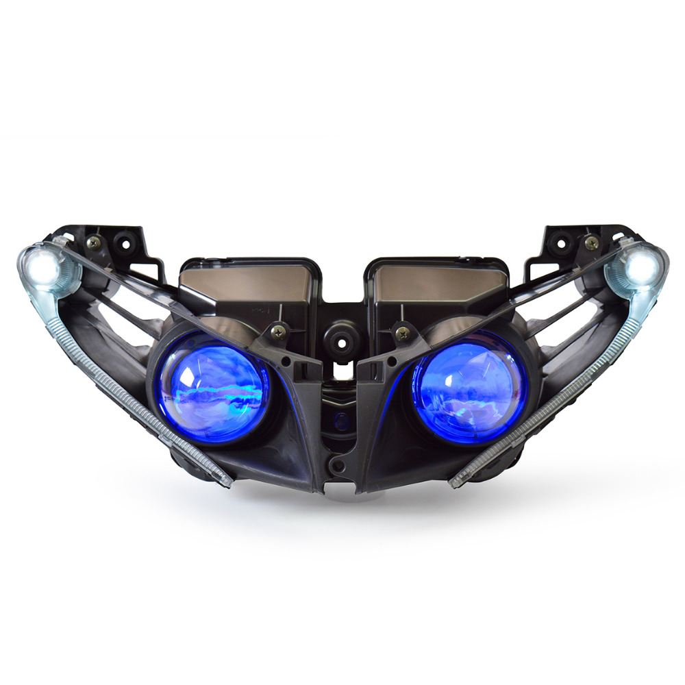 KT <font><b>LED</b></font> <font><b>Headlight</b></font> for <font><b>Yamaha</b></font> YZF <font><b>R1</b></font> 2012-2014 image