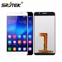For 5 0 Inch Huawei Honor 6 LCD Display Touch Screen Digitizer Assembly With Frame Black