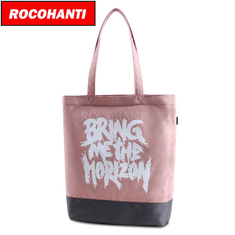 50PCS Customized Design Zippered Canvas Boat Tote Promotion Shopping Bags F2117