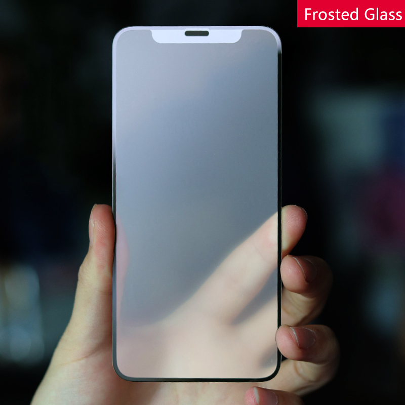 FUll Cover Matte Glass For Iphone 11 Pro Max Screen Protector Frosted Protective Tempered For Iphone 7 8 X Xs Max Xr Glass