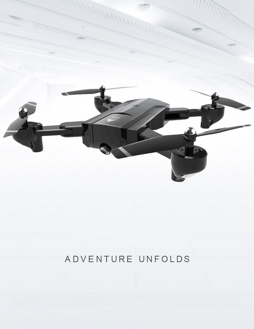 Global Drone Foldable GPS Follow Drone with Camera Full HD RC Quadcopter Profissional FPV Drones Quadrocopter VS VISUO XS812 8
