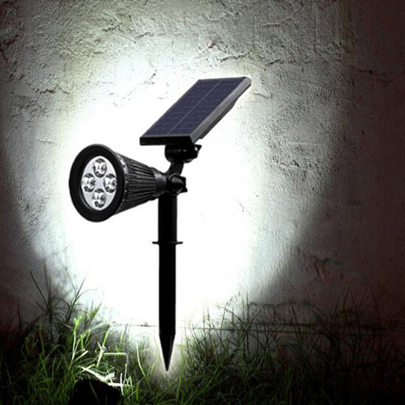 Led Solar Garden Lights Waterproof Low Voltage Solar Wall