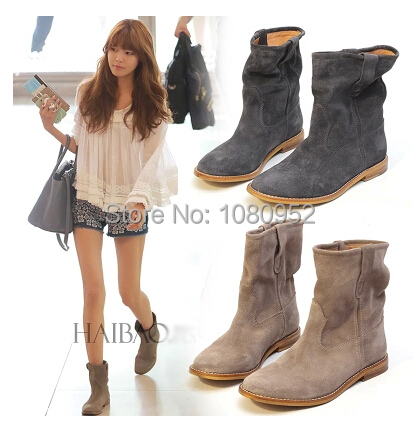 Aliexpress.com : Buy 2015 Fall Celebrity Ankle Boot, Top Quality ...