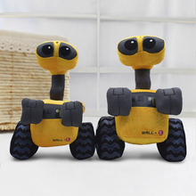 2 Size WALL-E Cartoon Soft Plush Doll Kids Toys Anime Robot Walle Stuffed Doll Toy For Children Gift  25cm 30cm monsters inc 43cm sulley sullivan 25cm babblin boo plush toy monsters university soft stuffed doll for kids gift