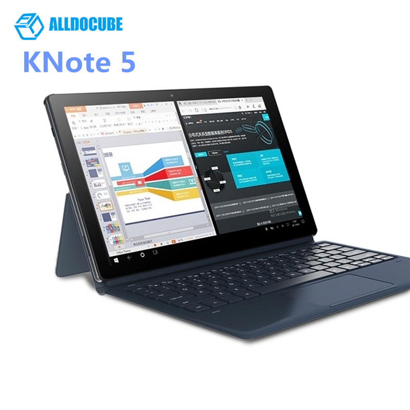 ALLDOCUBE KNote5 Tablet PC 11.6 ''Windows 10 Intel Gemini Lac N4000 Quad Core 4 gb RAM 64 gb SSD ROM Double WiFi Caméra Frontale