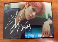 hand signed MONSTA X Minhyuk autographed photo ARE YOU THERE 5*7 102018