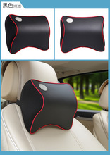 Headrest Memory Foam Leather Neck Pillows Car Covers Vehicular Plaid Car Seat Cover Auto Neck Free Shipping By Registered Parcel