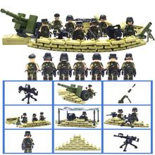 Súper Militar SWAT Establece Super Heroes Bloques de Construcción Mini Figura Minifigures Ladrillos Kid Toy Compatible con