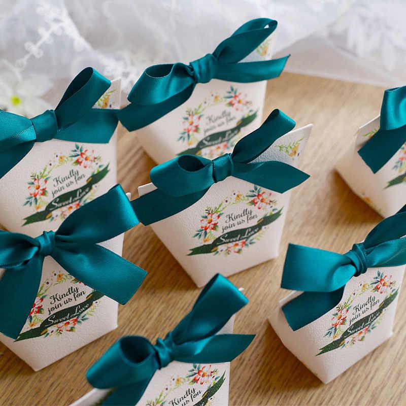 5 шт Европейский Famingos мешок конфет французский Свадебная сувенирная Подарочная коробка посылка День рождения любимые пакеты сумки Подарочная коробка