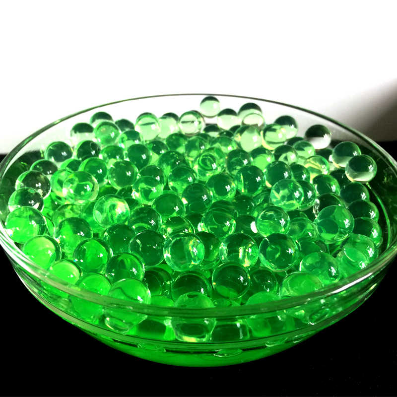 600pc/bag Crystal Soil Water Beads Balls Grow In Water hydrogel gel Growing Green Decorative Flower Wedding Home Deco