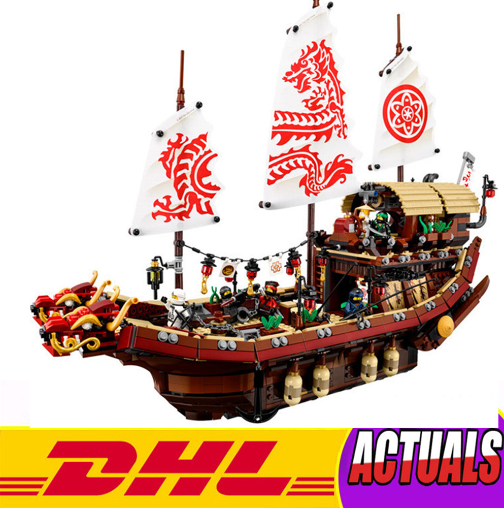 NEW LEPIN Ninja 06057 2455pcs Final Fight of Destiny's Bounty Anime Action Figures Building Block Bricks Toys Modle 1265pcs new ninja final flight of destiny s bounty 10402 model building kits blocks ninja toy biricks compatible with lego