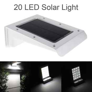 Waterproof Durable 20 LED Solar Power Outdoor Security Light Lamp PIR Motion Sensor - DISCOUNT ITEM  0% OFF All Category