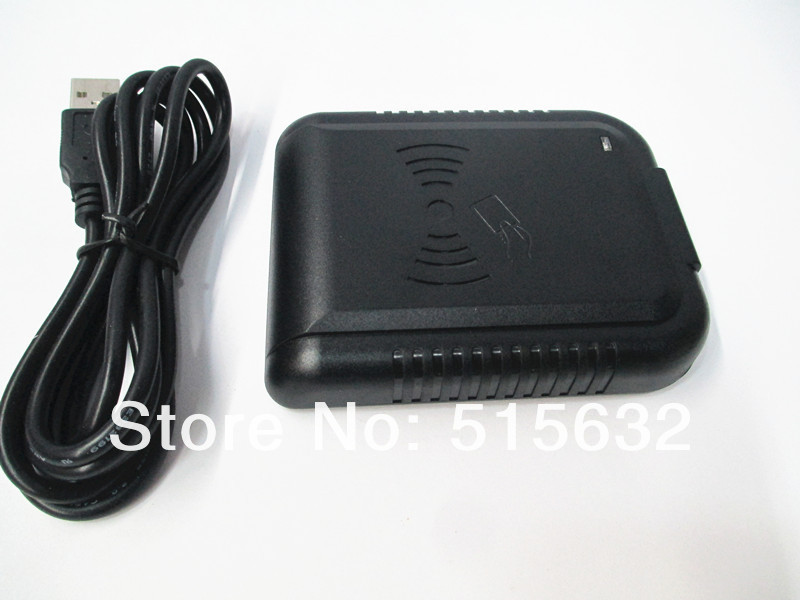 New DIP Switch Support 8-10 Security USB Proximity Sensor Smart IC 13.56Mhz RFID Contactless Card Reader Switch Formats