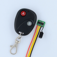 3V 5V 2CH Micro Contactless RF Remote Switch Low Standby Current Wireless Switch Mini Battery Power
