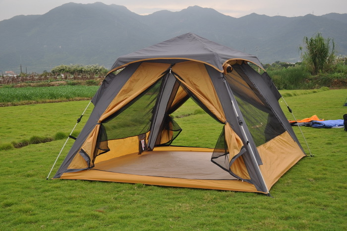 Alltel brand authentic outdoor tent-speed automatic opening double people camping and leisure goods shipping