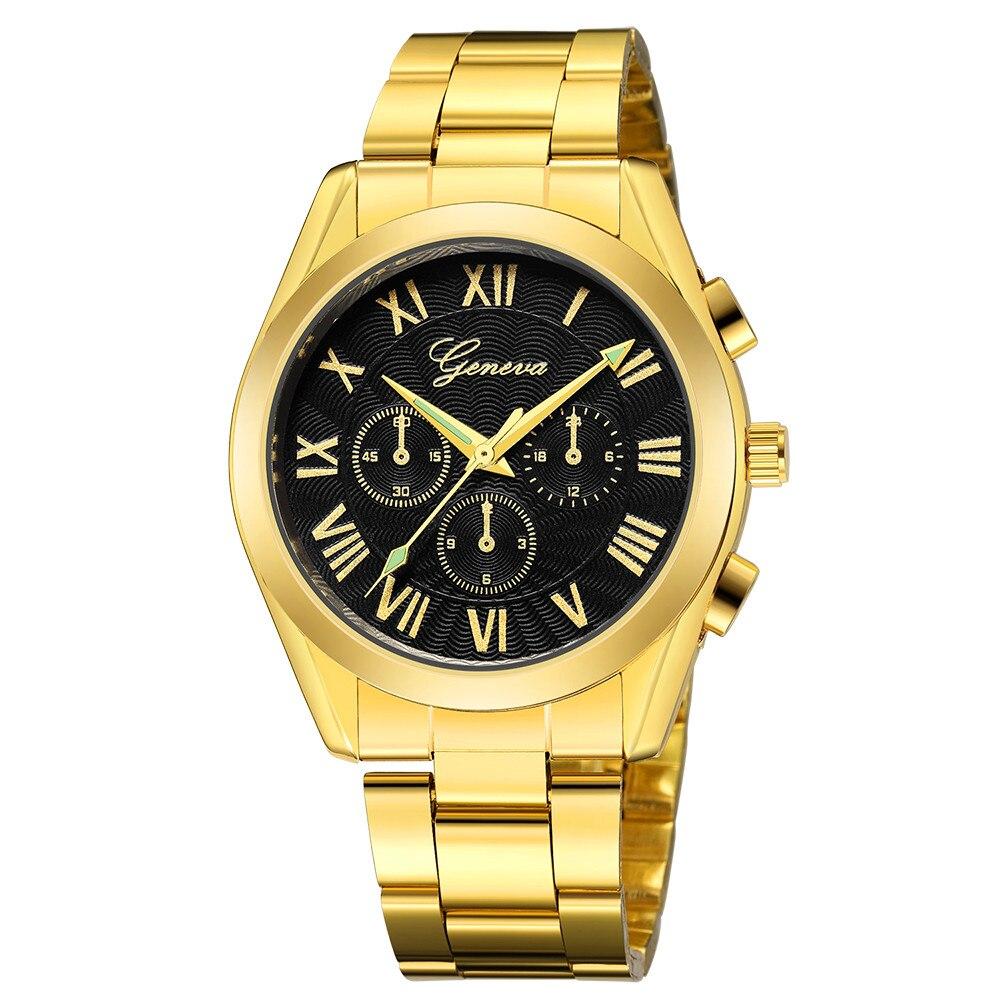 2019 Montre Homme Watches Men CUENA Fashion Military Stainless Steel Watch Date Sport Quartz Wristwatch Clock Relogio Masculino