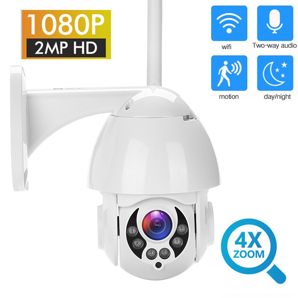 IP Camera PTZ Outdoor HD 1080P 2MP Onvif Speed Dome IR IP66 Waterproof Security Surveillance ipcam Exterior camara de vigilanciaIP Camera PTZ Outdoor HD 1080P 2MP Onvif Speed Dome IR IP66 Waterproof Security Surveillance ipcam Exterior camara de vigilancia