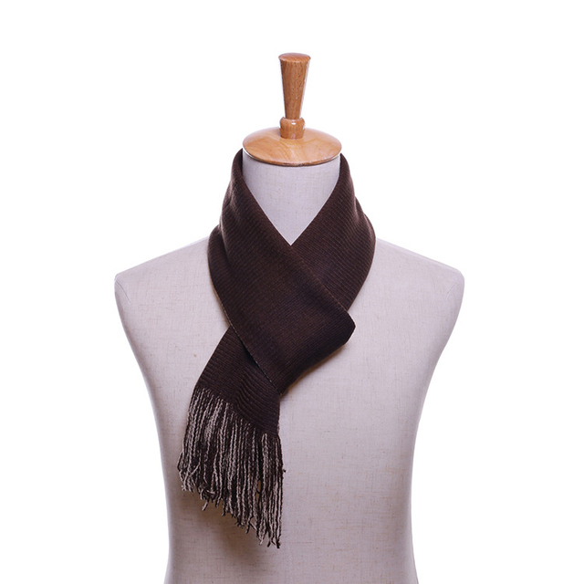 Winter high quality solid color men scarves and shawls scarves fall fashion designer wrap men business scarves with tassels
