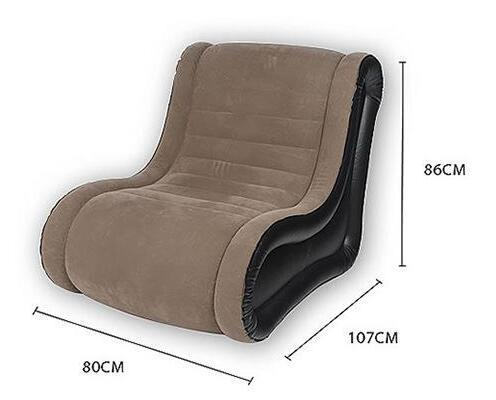 Neck Rest And Back Support Lazy Sofa Inflatable Bed Cinema Chair Ultra Luxury Leisure Inflated Bean Bag In Living Room Sofas From