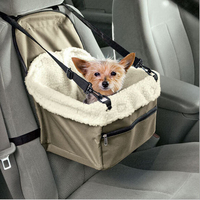 Car Carier Portable Outdoor Basket Keep Warm Pet Dog Cat Tote Crate Foldable Booster Safety Seat
