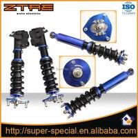 Регулируемая высота койловеров/катушка кадром/амортизаторы для Nissan S13 silvia снижение подвеской coilovers заслонки Высокое качество