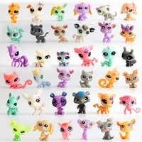 1 pièces aléatoire envoyer Suprise jouets drôles enfants enfants figurines jouets animaux oeufs magiques dessin animé chat chien dinosaures jouet cadeaux