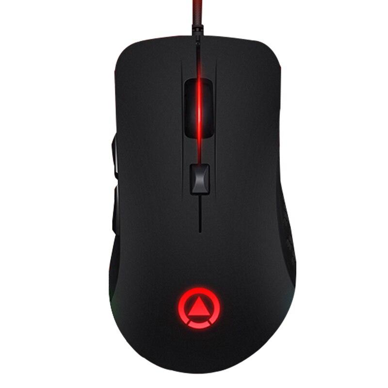 G402 Verdrahtete RGB LED-Licht Atem Stille Stumm 4000 DPI Einstellen USB Ergonomische Optische Gaming Maus Gamer Laptop Computer 7 tasten