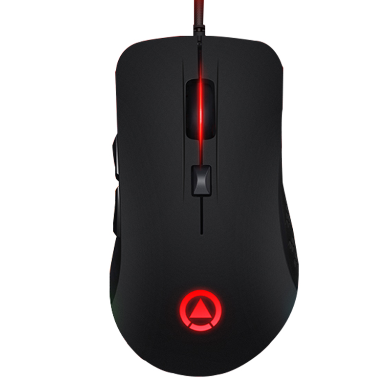 G402 Wired RGB LED Light Breath Silent Mute 4000DPI Adjust USB Ergonomic Optical Gaming Mouse Gamer Laptop Computer 7 Buttons