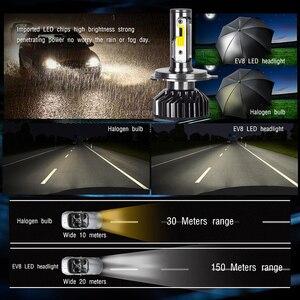 Image 4 - 2PCS LED H4 H7 LED Headlight Larger COB 10000LM LED Car Lights 50W H1 LED Fog lights 12v 24v H11 HB3 HB4 Auto Lamp Car Styling