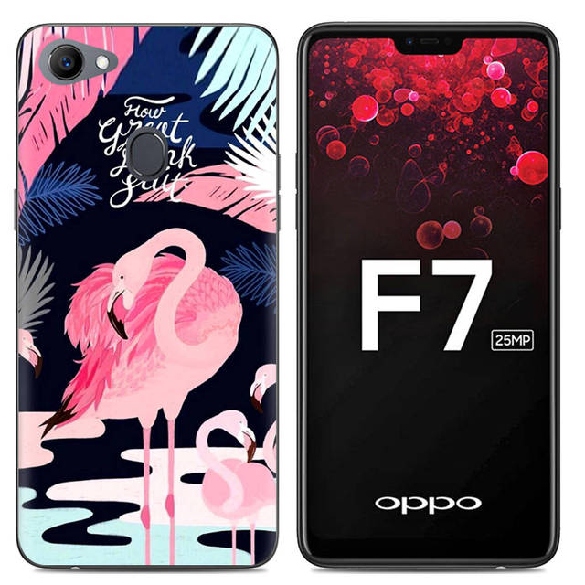 check out 52798 3042d US $2.24 10% OFF|Phone Case For OPPO F7 6.23 inch Cute Cartoon Soft Case  Silicone Cover Floral Unicorn Flamingo High Quality TPU-in Fitted Cases  from ...