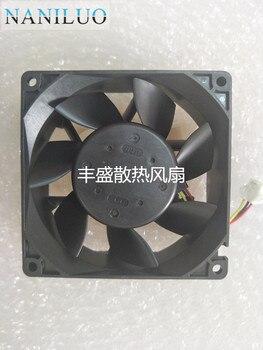 3615RL-05W-B39 B01 DC 24V 0.53A 90x90x38mm 3-Wire Server Square Fan