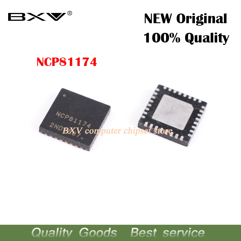 2pcs NCP81174 NCP81174MNTXG  QFN-32 New Original Free Shipping