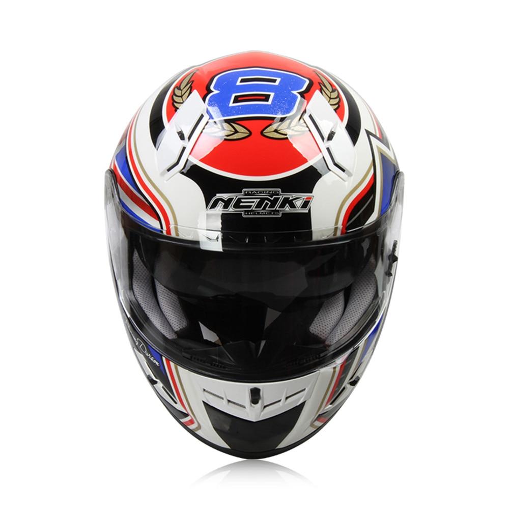 NENKI Fiberglass Motorcycle helmet Full Face Moto 856A Capacetes Motociclismo Cascos Para Moto Casque Motosiklet Kask Helmets купить 3х комнатные квартиры в подольске по улице вокзальная