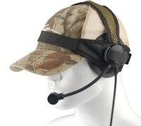 Fone de ouvido airsoft selex tasc1 tático z selex tasc1 com plugue padrão militar