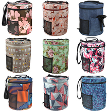 New 12 Styles Yarn Bag Knitting Crochet Large Tote For Hooks and Needles Balls