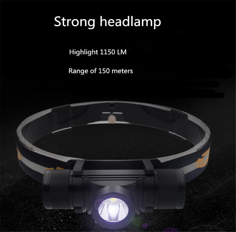 LED Head Lamp Fishing/Camping/Hiking CREE Headlight High Power LED Head Torch Rechargeable 18650 HeadLamp Waterproof Flashlight