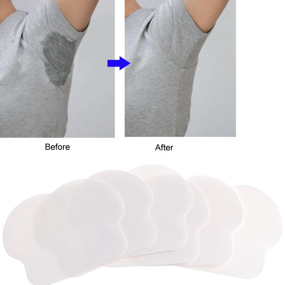 12 Pcs/lot Women Men Disposable Underarm Armpit Sweat Pads Absorbing Anti Perspiration Tools
