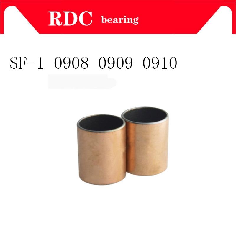 Buy Free Shipping SF-1 0908 0909 0910 Self Lubricating Composite Bearing Bushing Sleeve SF1 9mm x 11mm x 8mm 9mm 10mm