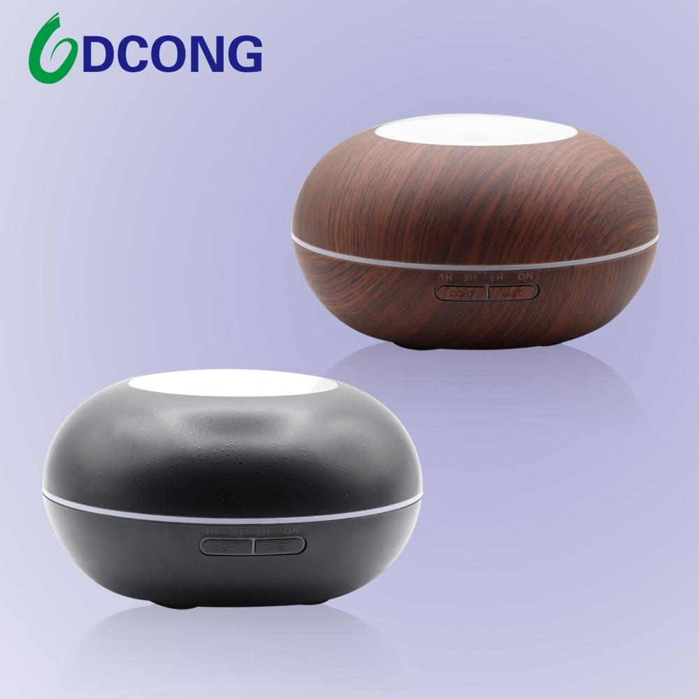 DCONG Humidificador 300ml Aroma Diffuser Umidificador De Ar Ultrasonic Humidifier Air Humidifier Essential Oil Diffuser
