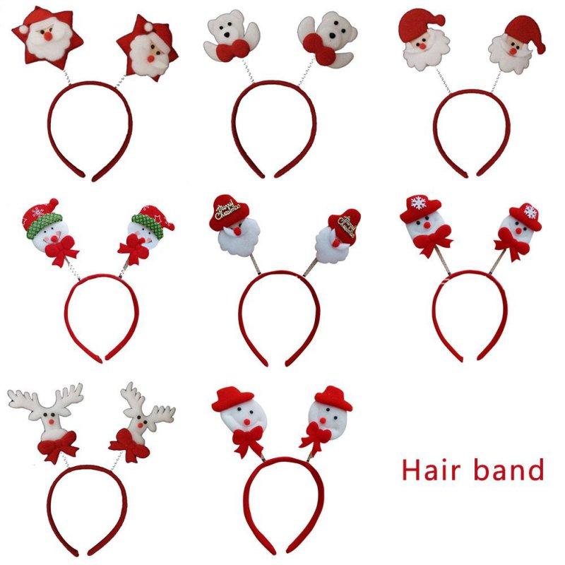 accesorios infantiles del pelo del beb nias bowknot horquilla adornos de navidad diadema arco barrette