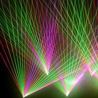 4 Вт 30 кппс сканером 4000 МВт RGB лазерное дежурное освещение для профессиональных лазерное шоу DJ Disoco FB3 ILDA DMX SD управления звуком