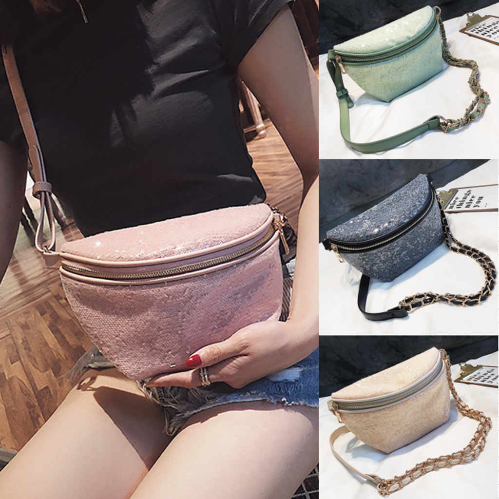 small chest bag for men hip bag girl fashion new women waist pack female belt bag phone pochete masculina para cintura#G68